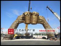 广场景观铜雕塑